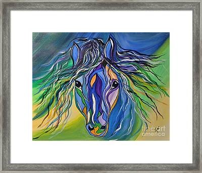 Willow The War Horse Framed Print