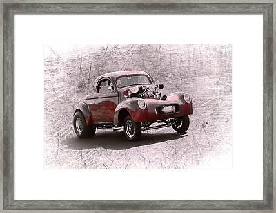 Willys Gasser Framed Print