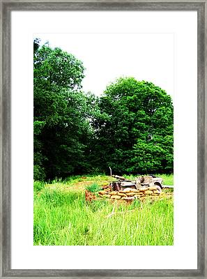 Willy's Outpost Framed Print by Jame Hayes