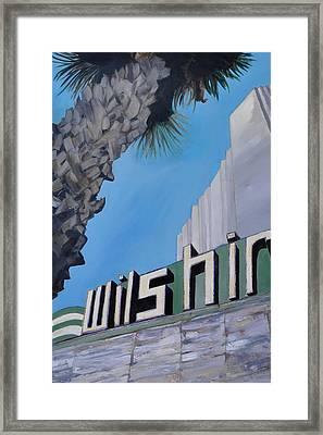 Wilshire Framed Print