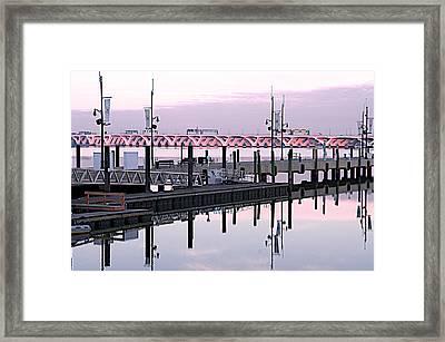 Wilson Bridge Framed Print