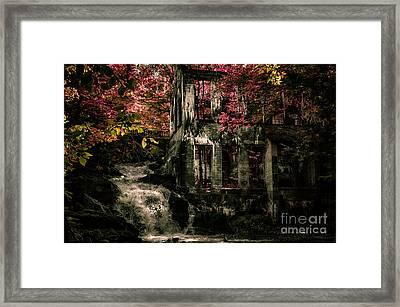 Wilson Carbide Ruins Framed Print