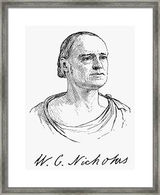 Wilson Cary Nicholas (1761-1820) Framed Print by Granger