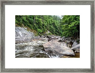 Wilson Creek Framed Print by Bob Jackson