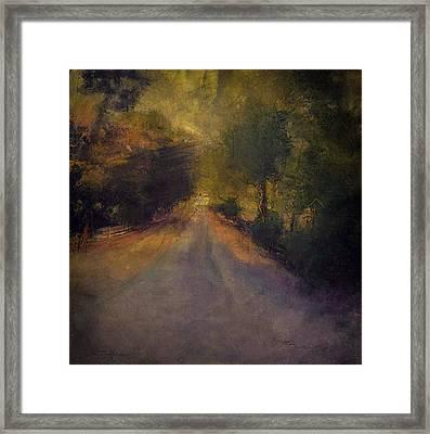 Wilsonville Road Framed Print by W i L L Alexander