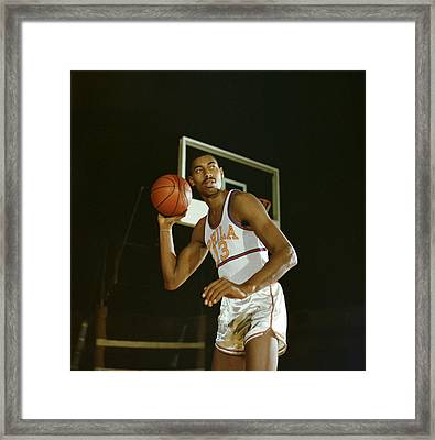 Wilt Chamberlain Perhaps The Best Ever Framed Print by Retro Images Archive