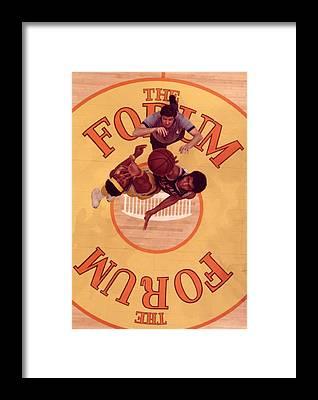 National Basketball Association Framed Prints