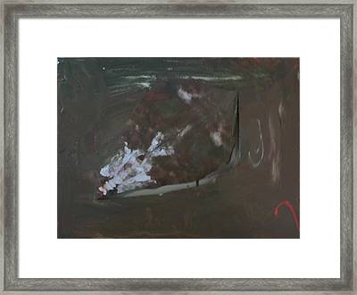 Wilted Rose Framed Print by Joshua Burke