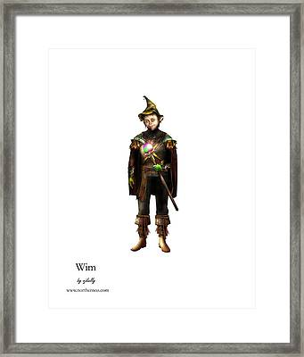 Wim Framed Print