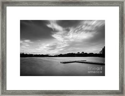 Wimbledon Park Framed Print by Matt Malloy