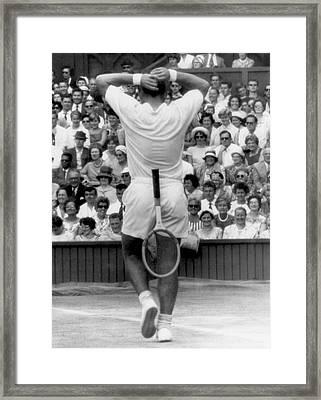 Wimbledon Win Framed Print