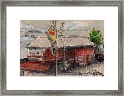 Wimpis Burgers Framed Print