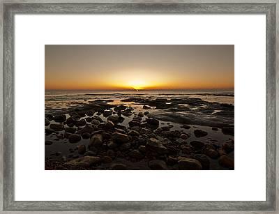 Winchelsea Sunrise Framed Print