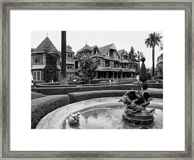Winchester House - San Jose California Framed Print by Daniel Hagerman