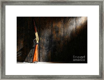 Winchester Framed Print by Olivier Le Queinec