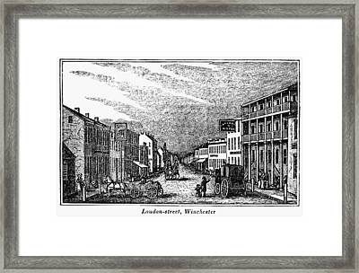 Winchester, West Virginia Framed Print