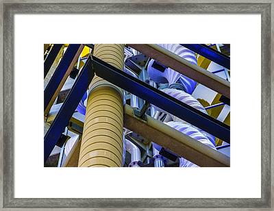 Wind Abstract No.1 Framed Print