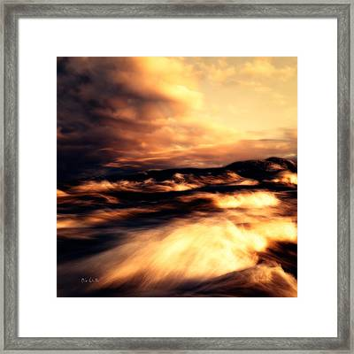Wind And Water Framed Print by Bob Orsillo