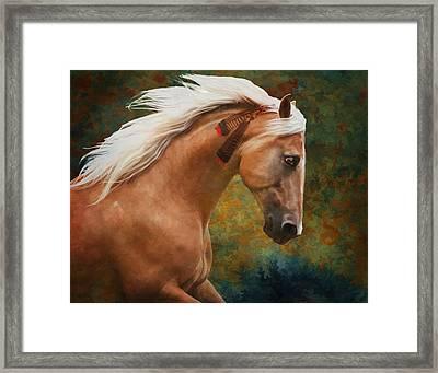 Wind Chaser Framed Print by Melinda Hughes-Berland