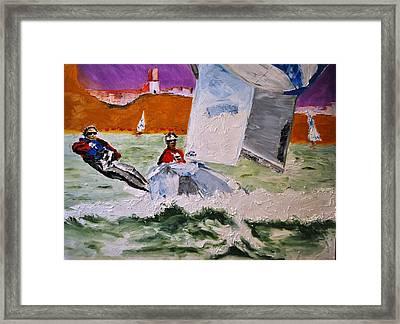 Wind Chaser Framed Print by Ruben Barbosa