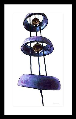 Wind Chimes Framed Prints