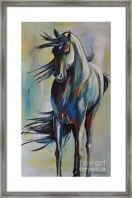 Wind Dancer Framed Print by Cher Devereaux