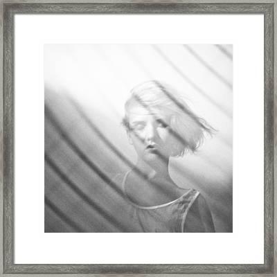 Wind Framed Print by Eugenia Kirikova