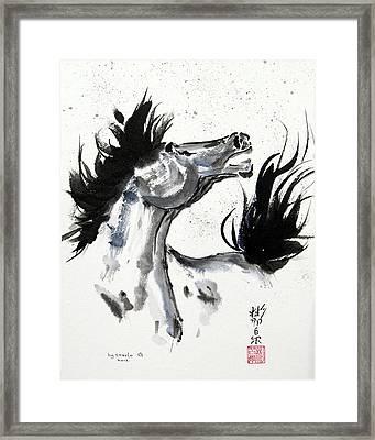 Wind Fire Framed Print