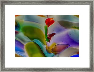 Wind Flower Framed Print