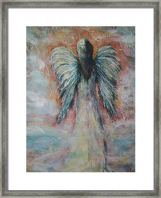 Wind In My Wings, Angel Framed Print