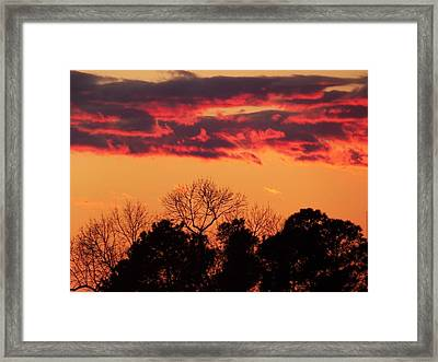 Wind Of Change Framed Print by Condor