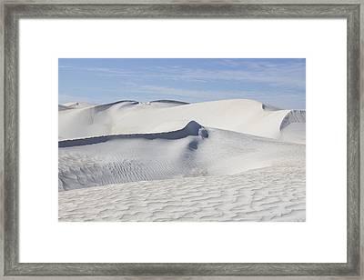 Wind Patterns Framed Print