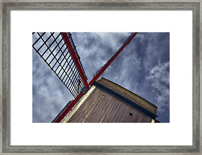 Wind Power Framed Print by Joan Carroll