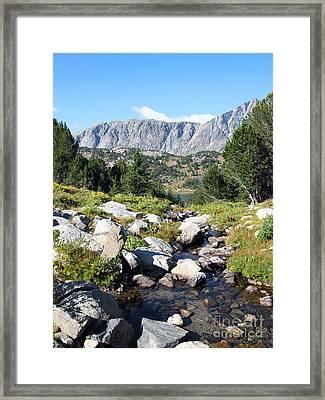Wind River Range Framed Print