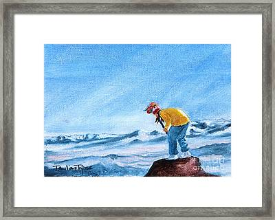 Wind Spirit Framed Print by Pauline Ross