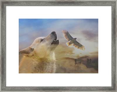 Wind Talker Framed Print
