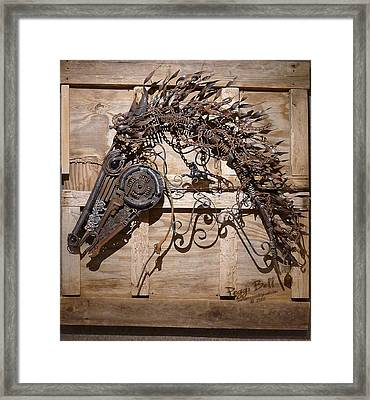 Wind Tamer Framed Print