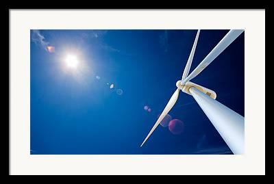 Solar Energy Framed Prints