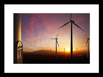 Farm Equipment Photographs Framed Prints