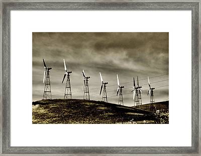 Wind Warriors Iv Framed Print by Bob Wall
