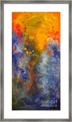 Wind Water Fire Framed Print by Todd Karleskein