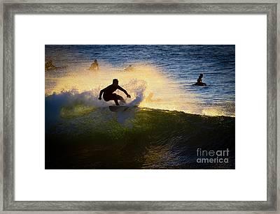 Windansea Surfin Framed Print