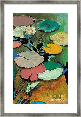 Windchime Spring Framed Print by Allan P Friedlander