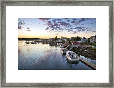 Winding Down Framed Print by Eric Gendron