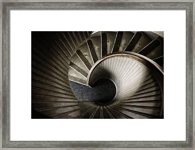 Winding Down Framed Print by Joan Carroll