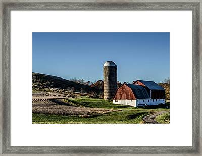 Winding Road Framed Print