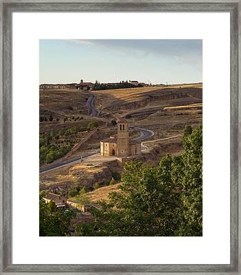 Winding Segovia Roads Framed Print by Viacheslav Savitskiy