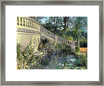 Winding Staircase Framed Print by Terry Reynoldson