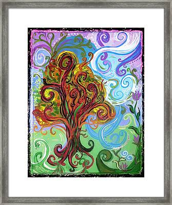 Winding Tree Framed Print by Genevieve Esson