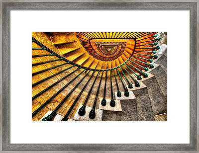 Winding Up Framed Print